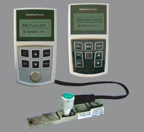 德国Elektrophysik(EPK)MiniTest 400/400A/400B测厚仪