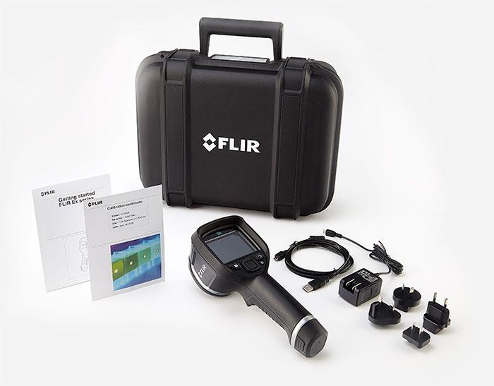 美国FLIR E4/E5/E6/E8系列红外热像仪