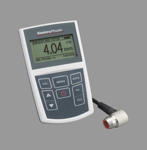 德国Elektrophysik(EPK)MiniTest420/430/440测厚仪