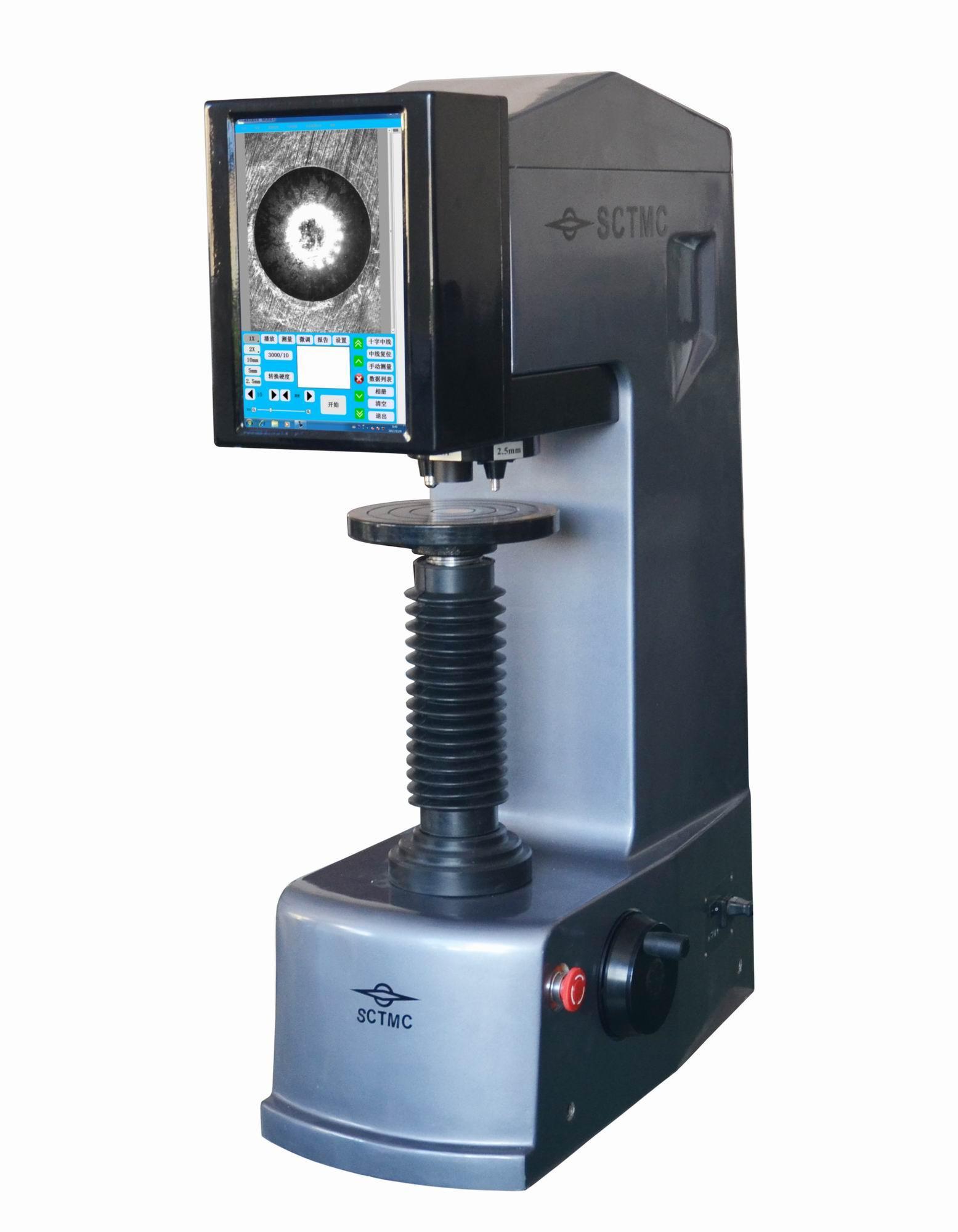 上海尚材 SCTMC XHBT-3000Z III全自动三压头数显布氏硬度计