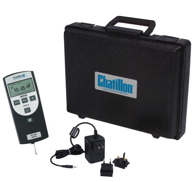 美国查狄伦Chatillon DFX2系列测力计