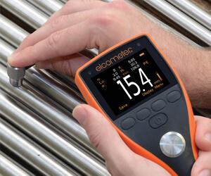 英国易高Elcometer 204 超声波钢铁材料测厚仪
