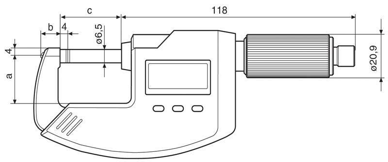 德国马尔通用数字式千分尺MICROMAR 40 EWV