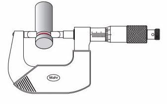 德国马尔MICROMAR 40 AS凹槽千分尺