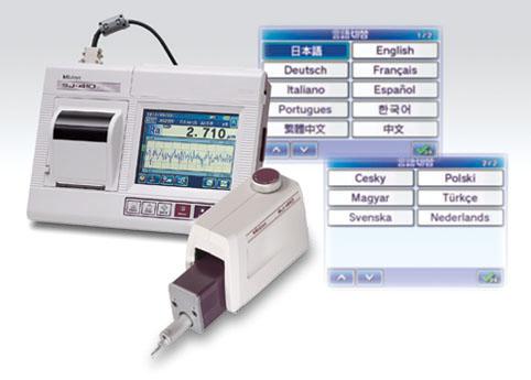 日本三丰Mitutoyo SJ-410表面粗糙度仪