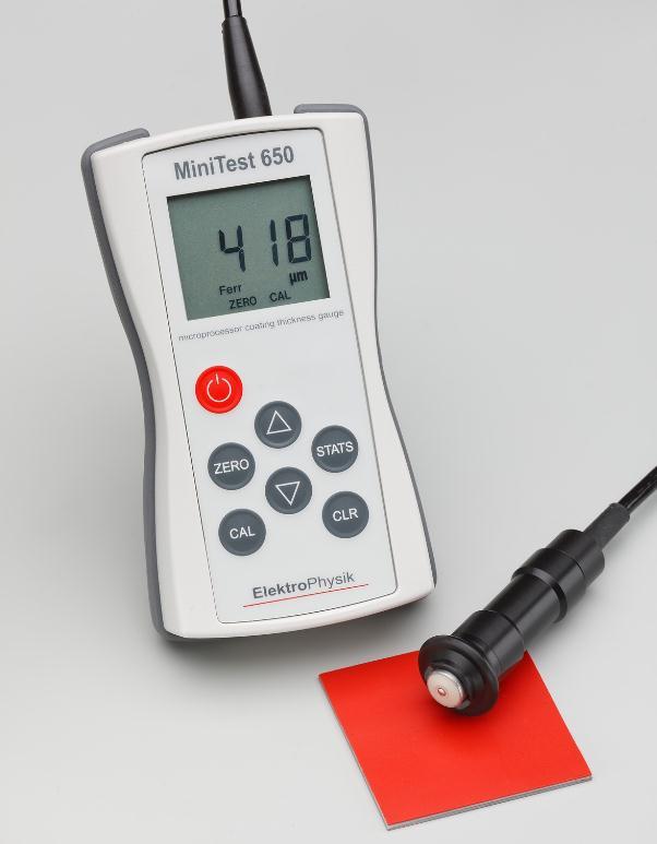 德国Elektrophysik(EPK)MiniTest 650测厚仪
