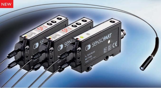 德国森萨帕特Sensopart FL70塑料光纤传感器