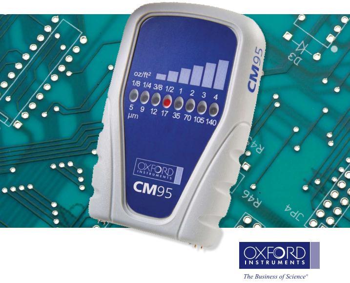 英国牛津 Oxford CMI95M手持式铜箔测厚仪