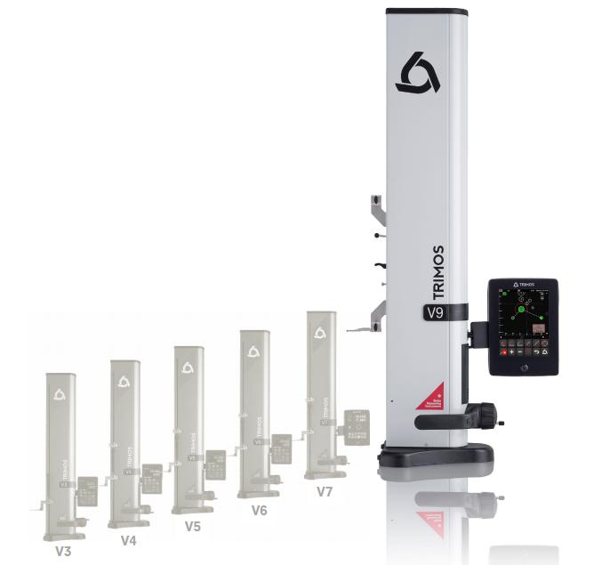 瑞士TRIMOS V9 二维数显测高仪