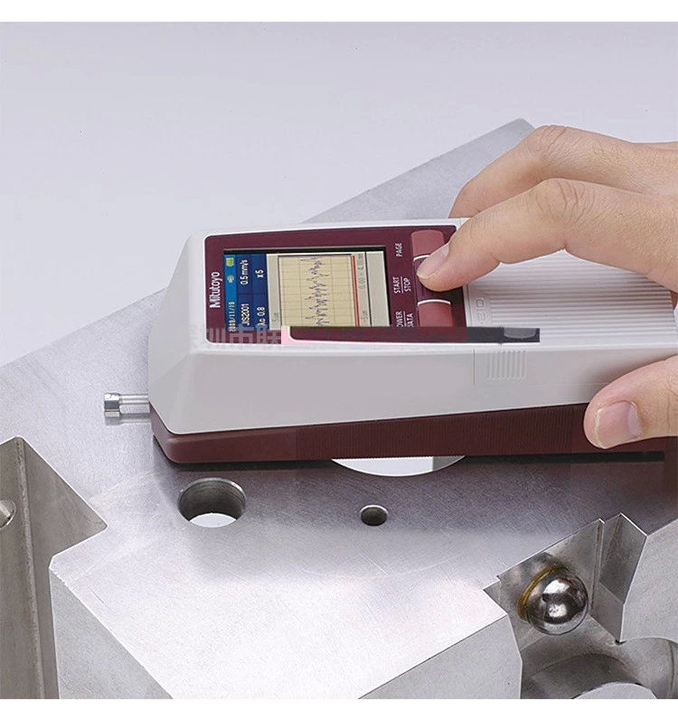 三丰便携式粗糙度仪sj-210使用方法
